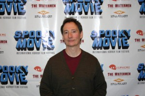 Alex Cutler at the 2011 Spooky Movie International Film Festival - photo by C.W. Prather, all rights reserved