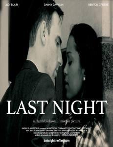 last Night poster