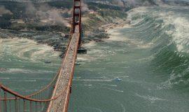 San Andreas - tsunami