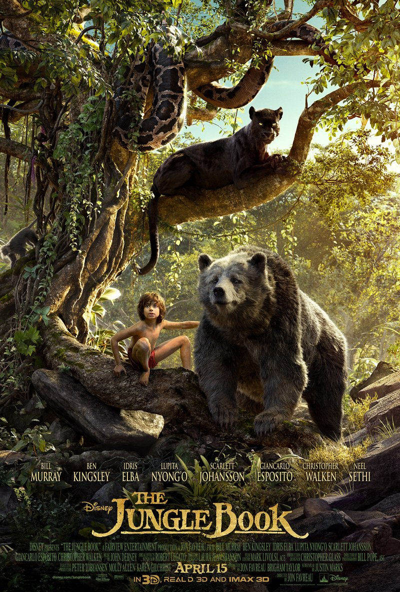 The Jungle Book (2016) - MOVIE REVIEWDC Filmdom | Entertainment ...