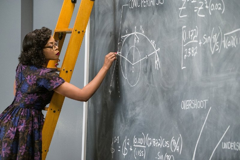 Taraji P Henson as Katherine Coleman Goble Johnson in Hidden Figures