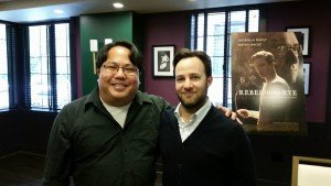 Eddie and actor/director Danny Strong