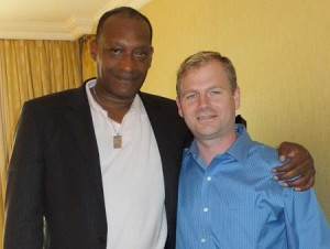 Mike and actor Tony Todd