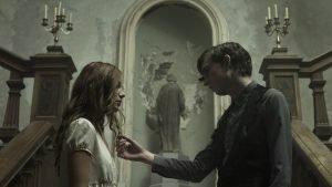 The Lodgers 03 - Charlotte Vega as Rachel - Bill Milner as Edward
